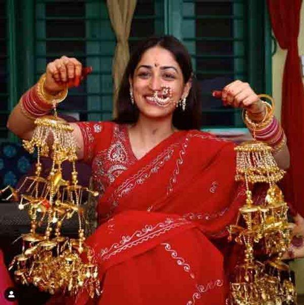 યામી ગૌતમે લગ્નની તસ્વીરો કરી શેર